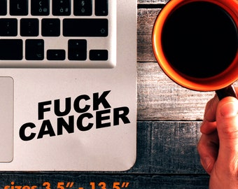 F*ck Cancer Decal