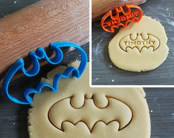 Batman, Cookie Cutter with option to personalize