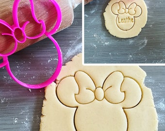 Minnie Mouse, Disney Cookie Cutter with option to personalize