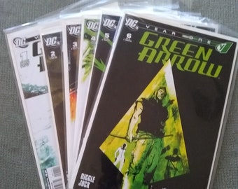 DC comics year one green arrow #1-6 complete nm