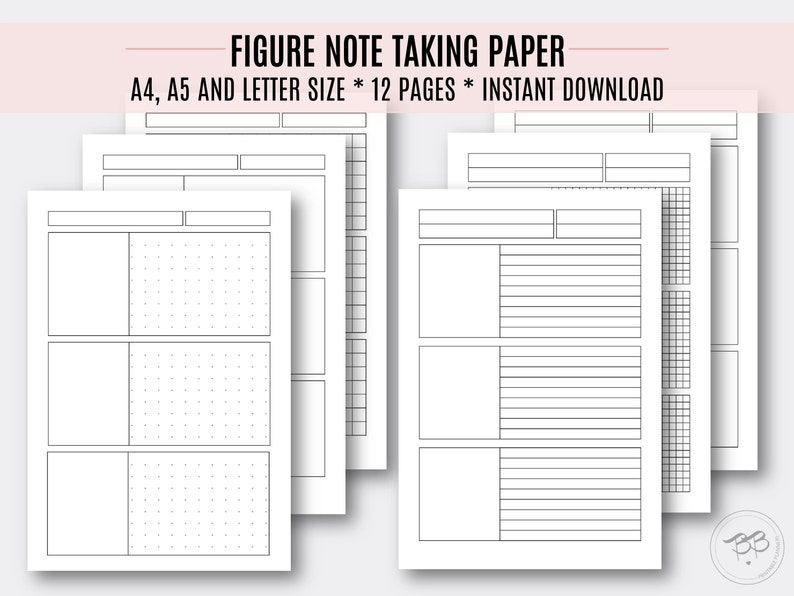 image regarding A4 Printable Paper identify Determine Take note Using Paper/ A4, A5, Letter sizing/ Printable paper fixed/ Faculty, Faculty, Operate Instrument/ Electronic Documents/ Fast Obtain