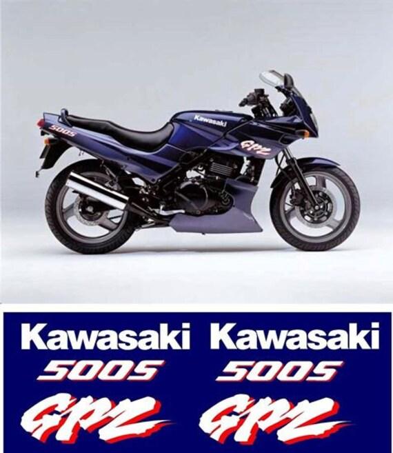 Kawasaki Gpz 500s Replacement Decals Stickers