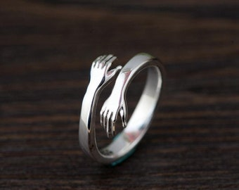 Gifts under 20 Adjustable Silver Braided Ring bridal gifts