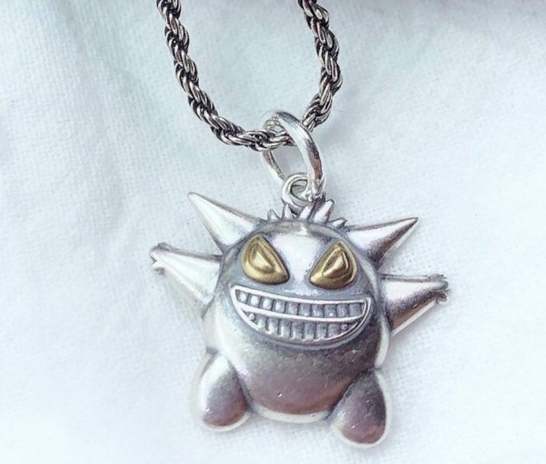 Sterling Silver Pendant - Gengar