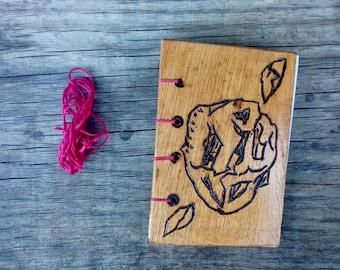 Basket Stinkhorn Rare Funghi Pink Coptic Bound Journal