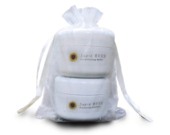 SapidBODY Gift Set (Conditioning Butter and Cleansing Exfoliant)
