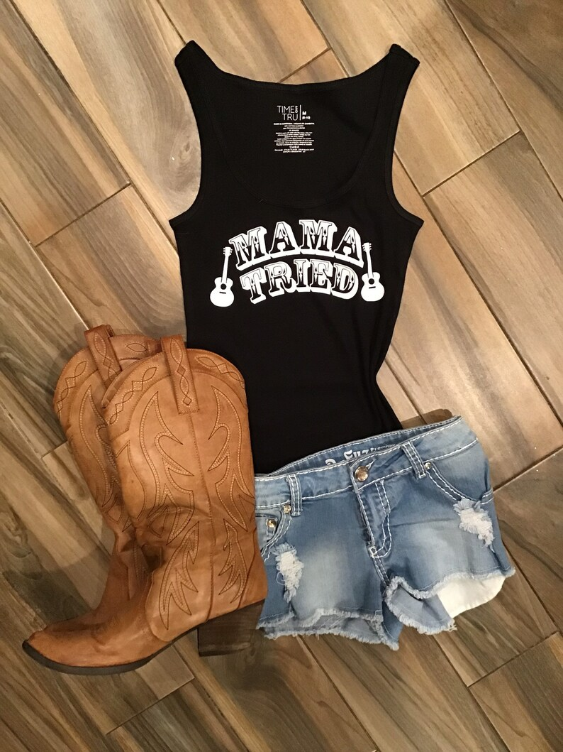 0d63472411d0a Mama Tried    Merle Haggard    Country Music Shirt    Country