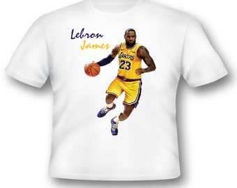 0e0b9ae09372 In Live Action Lebron James T Shirt