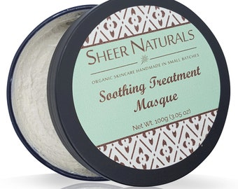 Sheer Naturals Soothing Treatment Mask - 100ml