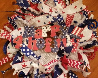 Independence Day/4th of July Wreath