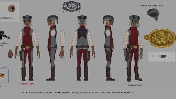 Rebels Version Hondo Ohnaka Holster