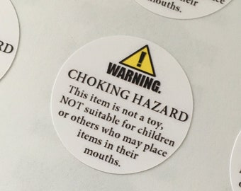 Warning Hazard Stickers