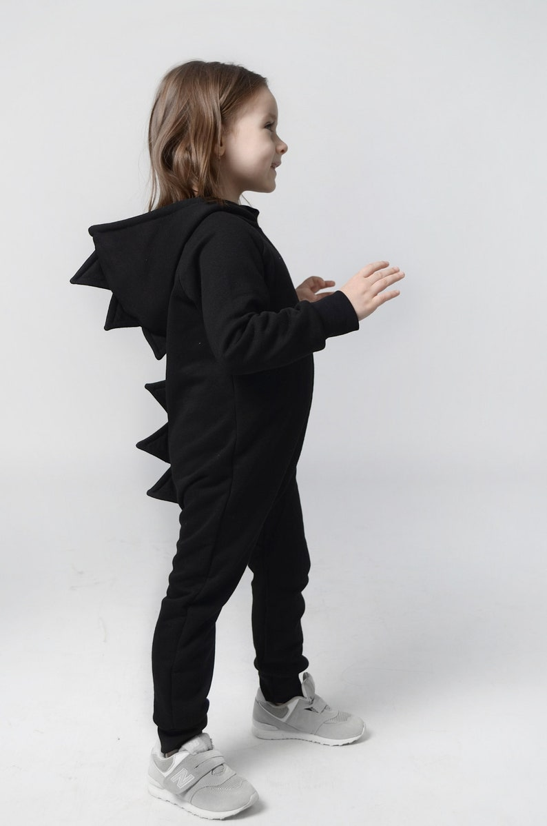 66dac3a5e3fcd Hooded jumpsuit, Dinosaur, Dragon costume, fun RAWR, TRex, Halloween  costume, The weeknd clothing, Toddler gift, Kids jumpsuit, Dino Costume