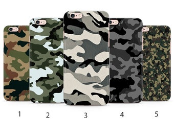 Camouflage  Army Camo Phone Case for iPhone / Samsung k27