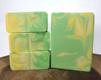 Zesty Lemongrass-Handmade Cold Process Soap