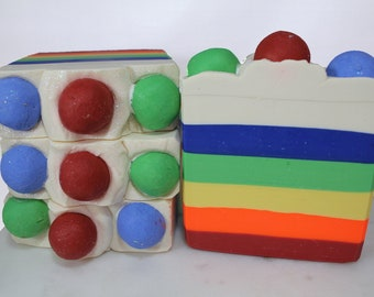 Bubblegum Scented-Handmade Cold Process Soap