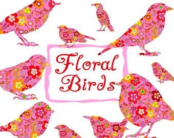 Vogel auf einem Draht niedlich digitale Clipart kommerzielle | Etsy