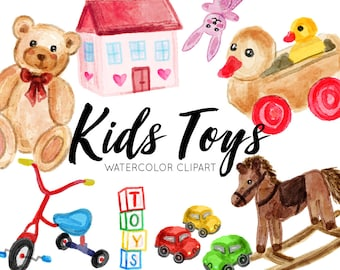 Toys Game Clipart Etsy