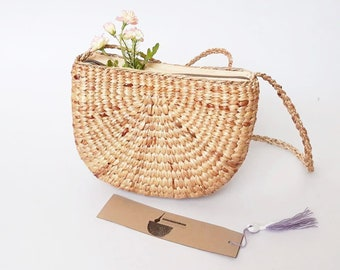 New Hot!!! Watermelon Straw Bag Cross Body Bag / Straw Handbag / Summer Hand bag / Straw Tote / Straw Purse Shoulder Bag / Wicker Bag/ Bag