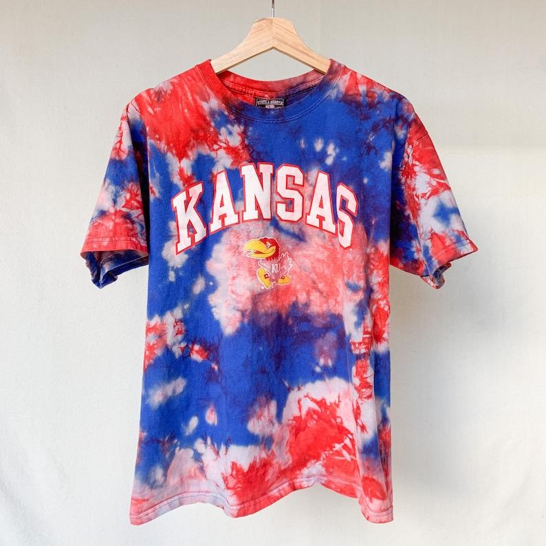 Tie Dye Kansas Jayhawks T-Shirt