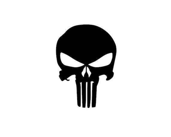 Punisher Logo Decal Car Window Decal   Etsy