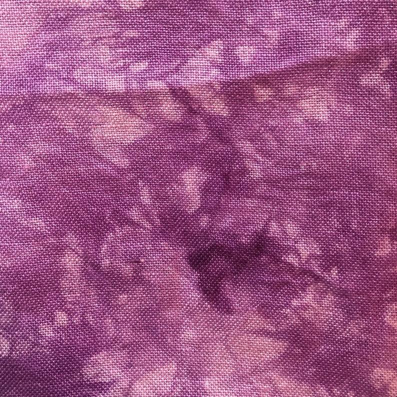 Hand Dyed Cross Stitch Fabric 32 Count Belfast Linen 27