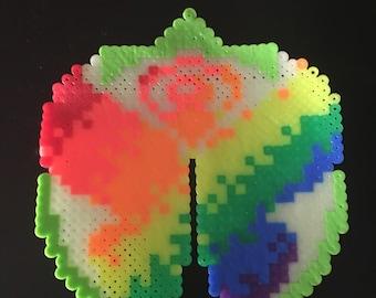 Perler Bead Rainbow Tomorrowland Logo