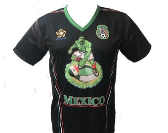 Mexican The SuperBlue Green Giant ( Black) shirt