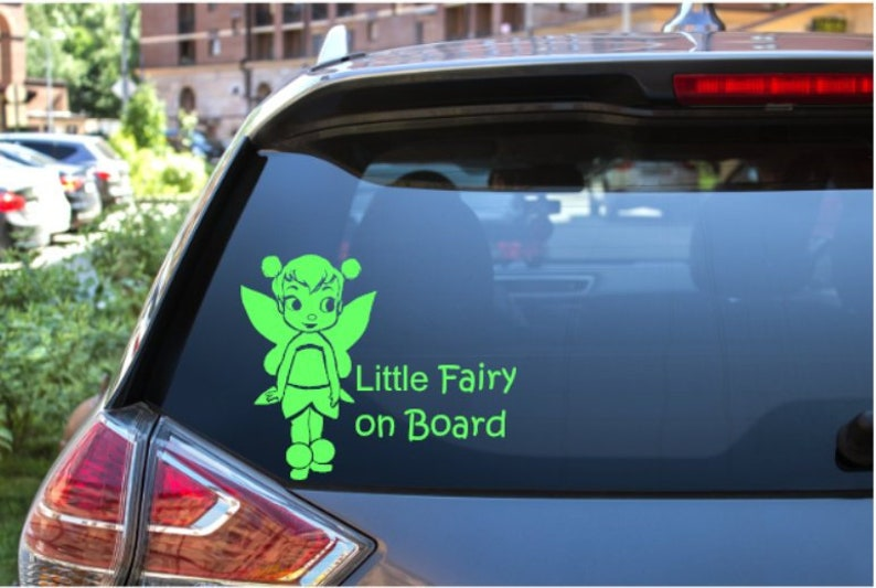 "Minnie Mouse Baby /""Baby on Board/"" Car Window Van Jeep SUV Vinyl Decal Sticker"