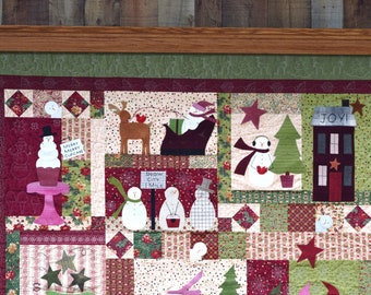 Quilt Hanger with Shelf - 49 to 60""