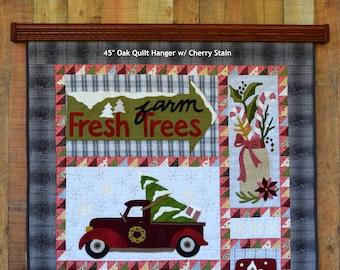 Oak Quilt Hangers