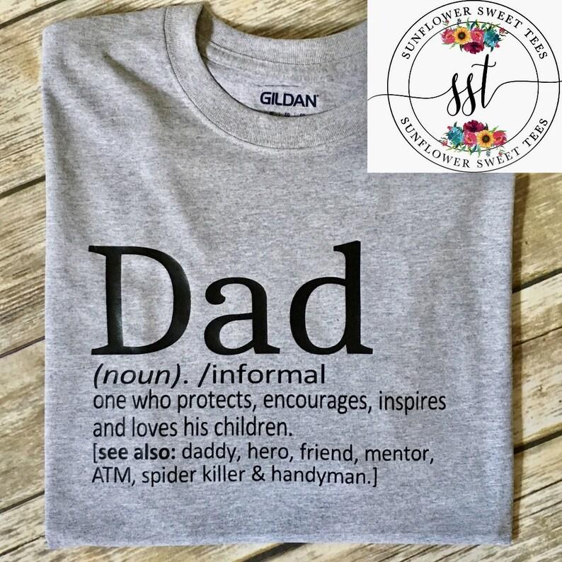 7bcf9361 Dad Shirt Funny Dad Shirt. Definition of Dad Shirt. Fathers   Etsy