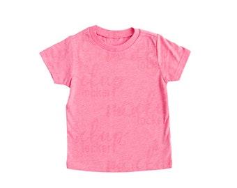 9cb39670 Kavio Kids Tee mockup | Pink Flash | summer mockup flat lay mockup tshirt  mockup blank shirt template toddler top mockup kids shirt mockup
