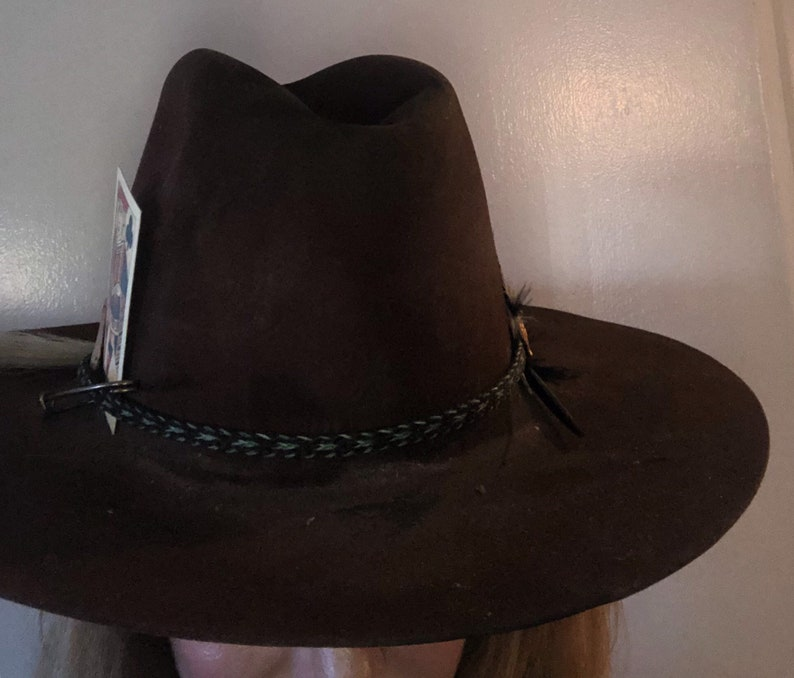 9fc88bb0c Vintage distressed western hat