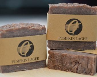 Pumpkin Lager Artisan Handmade Bar Soap