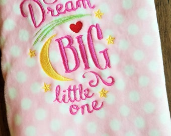 Dream Big Little One Bedding Etsy