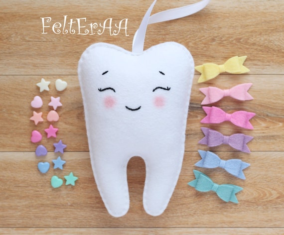 Plush Hanging Tooth Fairy Pillow With