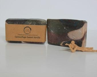 Handmade Soap - Sweet Vanilla Camouflage
