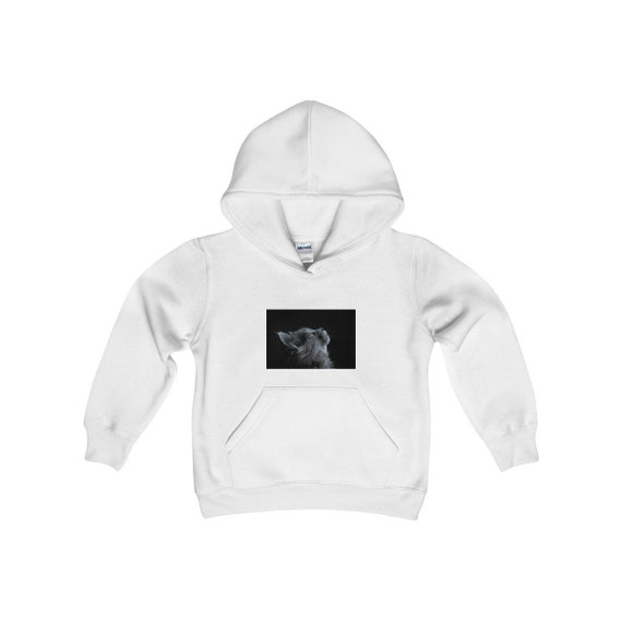 caa43c51a Kids Cat Hooded Sweatshirt Girls Hoodie Boys Little Girl Gift | Etsy