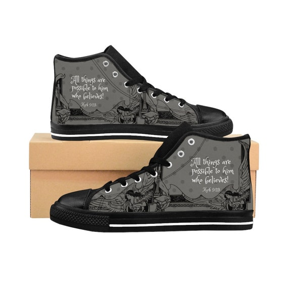 high top boys sneakers