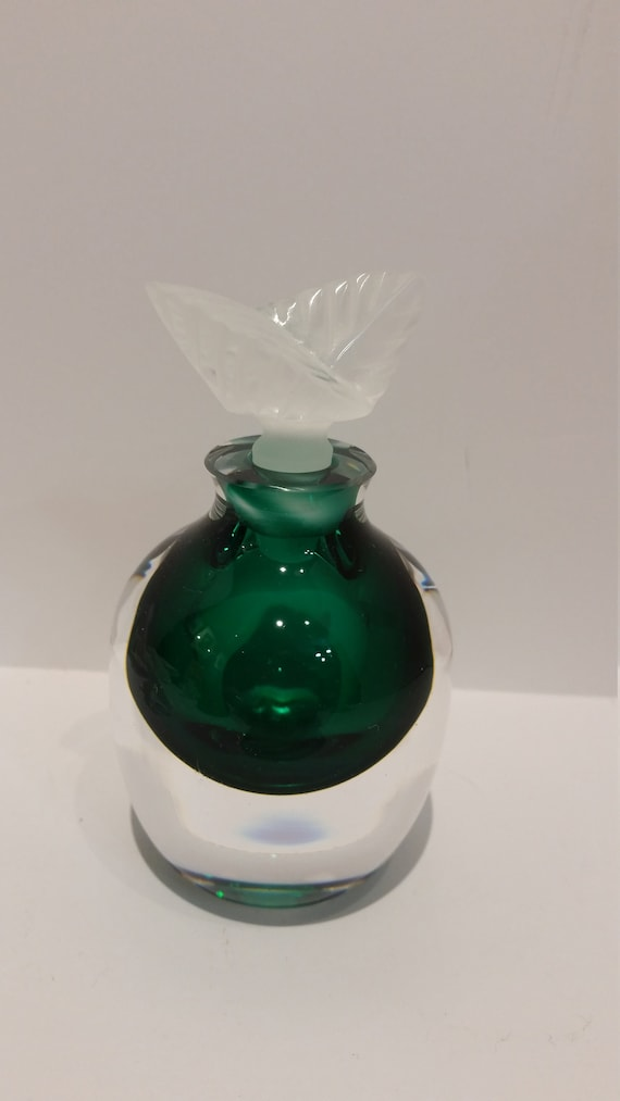 Apple Shape Hand Blown Glass Perfume