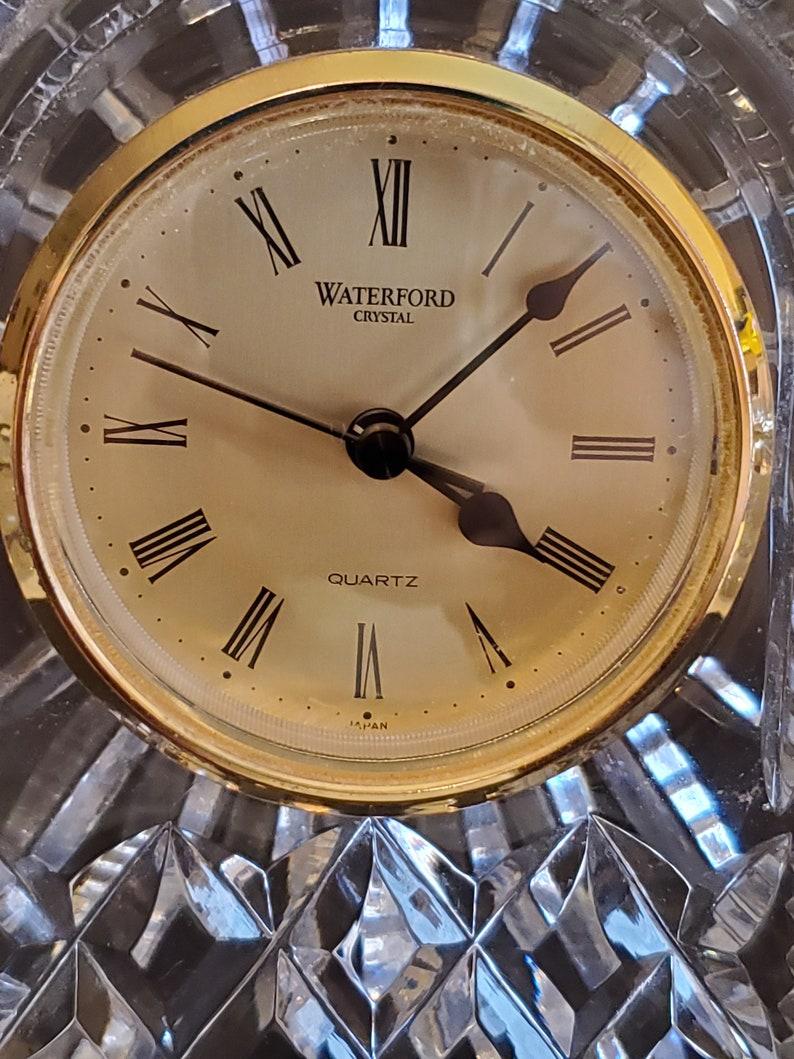 Waterford Lismore Grande horloge de transport