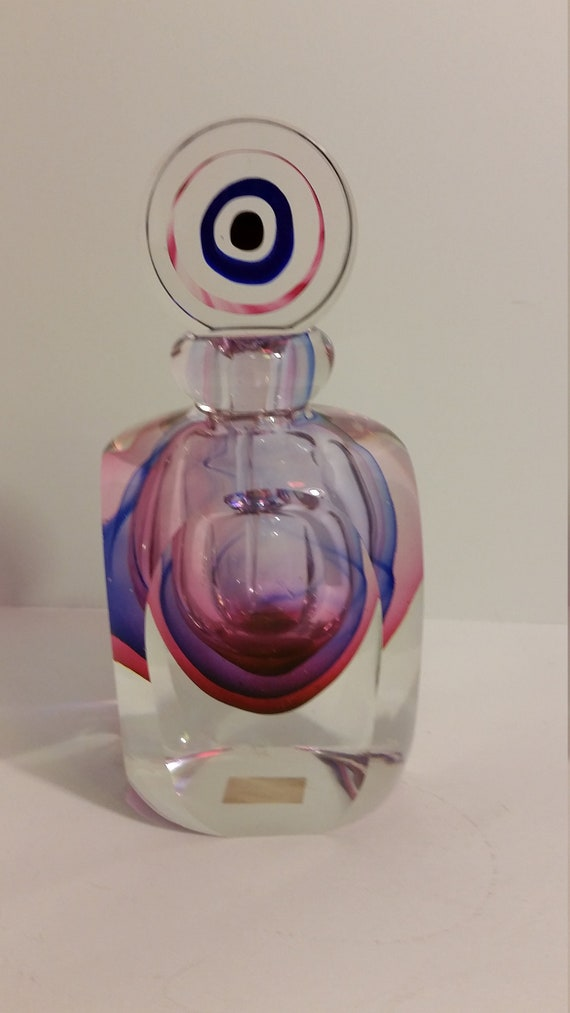 Fifth Ave Crystal Perfume Bottle with