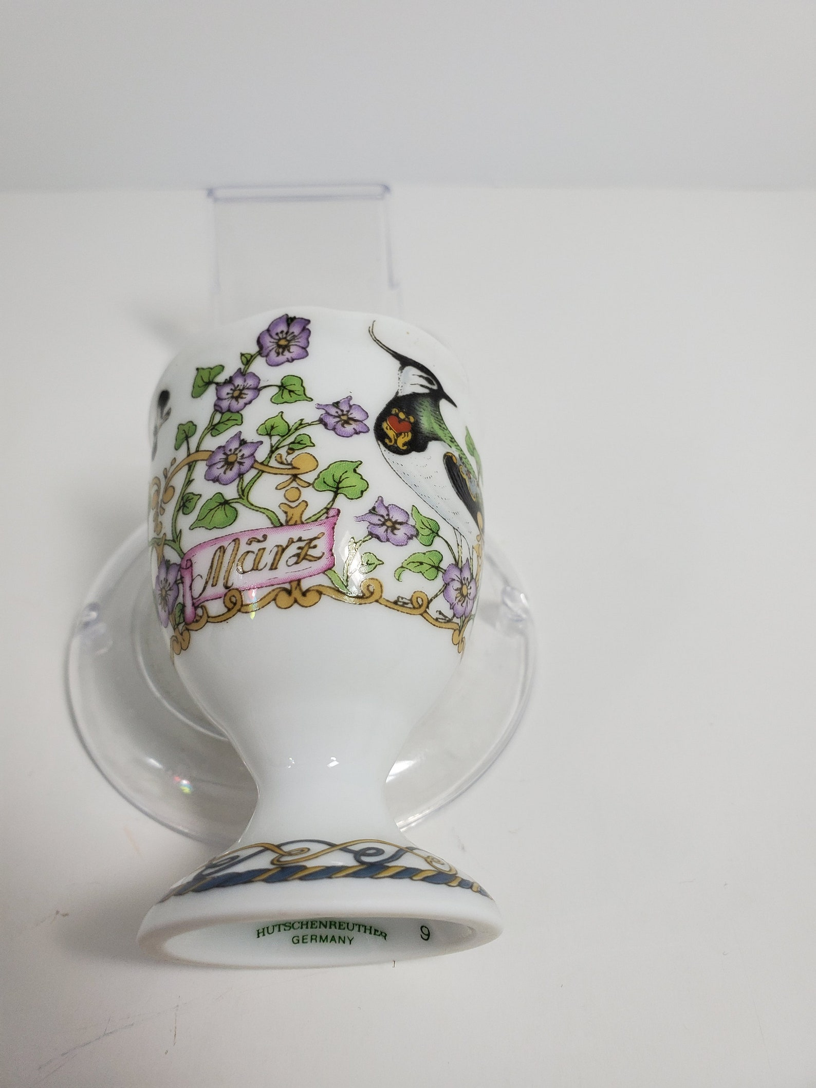 Hutschenreuther March Egg Cup, Germany
