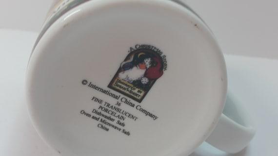 Christmas Story Sleigh Mug International China