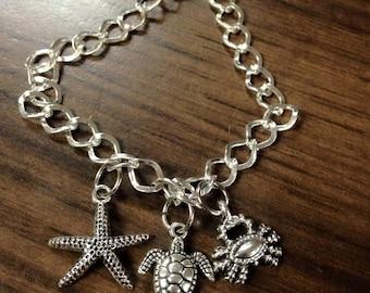 Beachy Themed Bracelet
