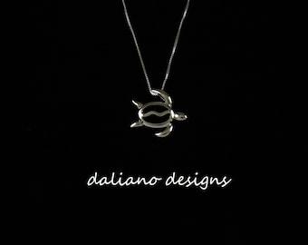 Honu pendant etsy honu sea turtle petroglyph pendant w chain hawaiian inspired jewelry designs 925 sterling silver w rhodium plating to prevent tarnish aloadofball Images