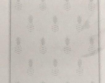 NEW Citrus Bliss Pineapple Embossing Folder home decor  Scrapbook Card making Papercrafting