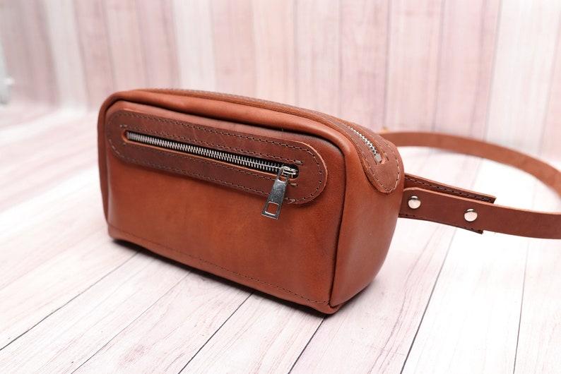 57e424350321 Fanny pack Leather Purse Waist bag Leather Bag fanny   Etsy