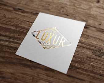 Gold foil print business cards etsy 100 goldsilverbrass hot foil printed highly customizable business cards 380480700gsm reheart Gallery